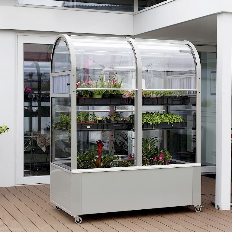 neu balkon gew chshaus terra von hoklartherm harries plantdesign. Black Bedroom Furniture Sets. Home Design Ideas